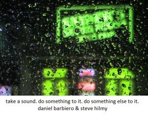 take a sound
